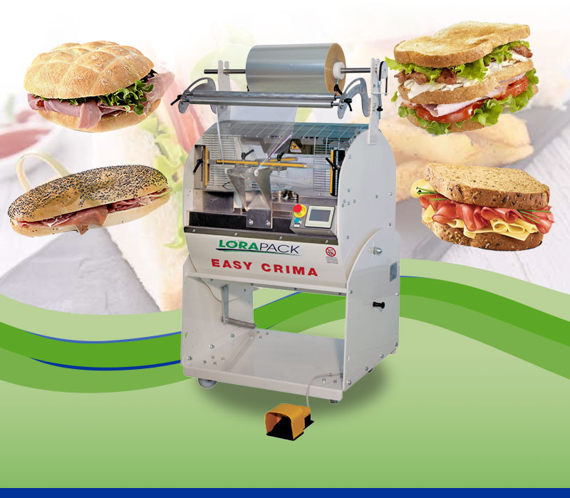 Sandwiches Wrapping Machines