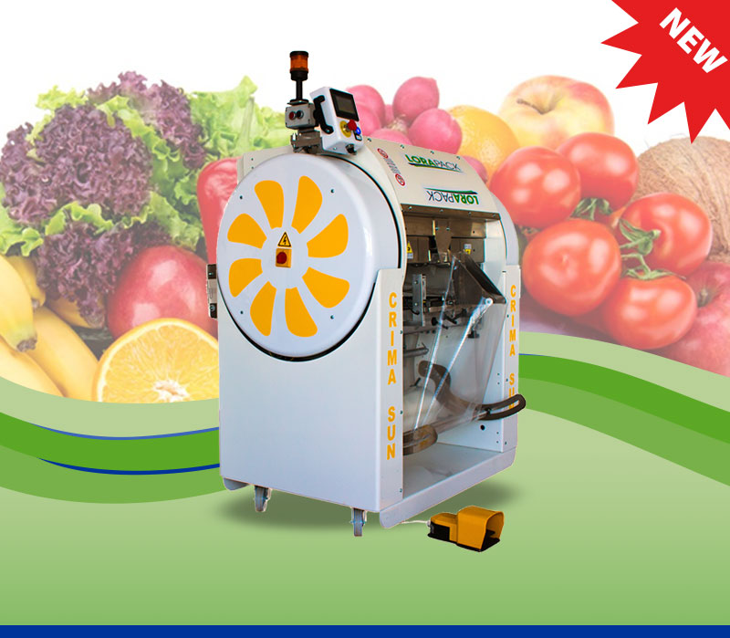 CRIMA SUN180° Rotating Wrapping Machine
