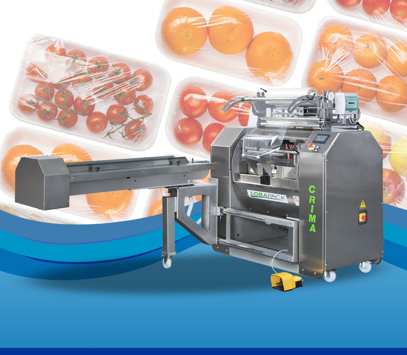 Food Tray Wrapping Machines