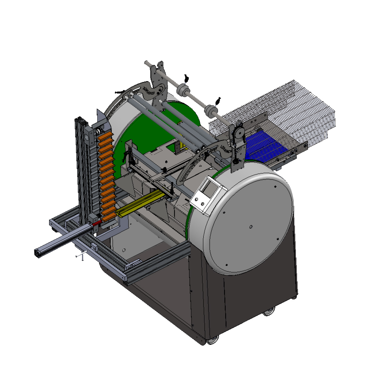 Automatic Loader For Pressed Food Bars